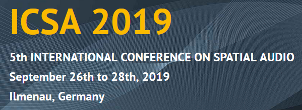 5th International Conference on Spatial Audio 2019