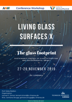 Living Glass Surfaces X - The Glass Footprint